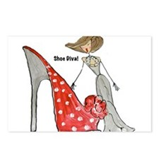 SHOES Postcards (Package of 8)