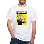 "Rosie ""Proud Infidel"" White T-Shirt"