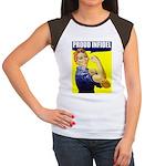 """Rosie """"Proud Infidel"""" Women's Cap Sleeve T-Shirt"""