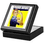 """Rosie """"Proud Infidel"""" Keepsake Box"""
