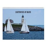 Lighthouses Of Maine Calendar