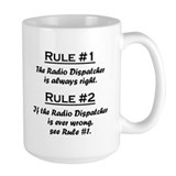 Radio Dispatcher Mug