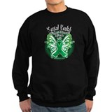 Mental Health Butterfly 3 Sweatshirt