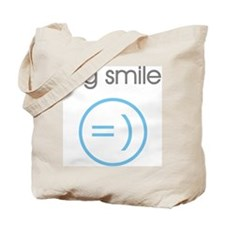 Blue Instant Messaging Teen  Tote Bag