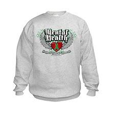 Mental Health Wings Sweatshirt