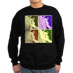 Snowboarding Pop Art Sweatshirt (dark)