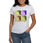Snowboarding Pop Art Women's T-Shirt