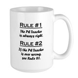 PE Teacher Coffee Mug