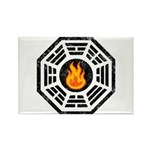 Dharma Flame Rectangle Magnet