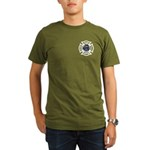 Firefighters Think Green Organic Men's T-Shirt (da