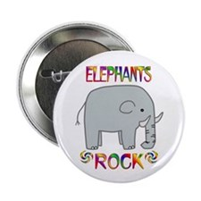 "Elephant 2.25"" Button"