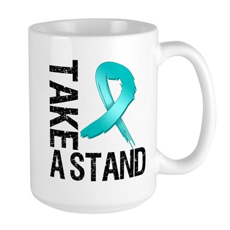 PCOS Take A Stand Large Mug
