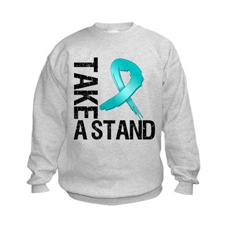 PCOS Take A Stand Kids Sweatshirt