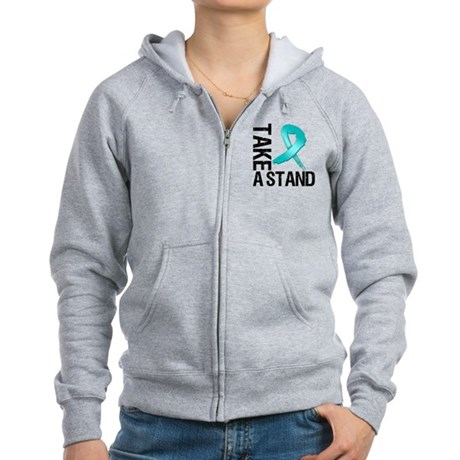 PCOS Take A Stand Women's Zip Hoodie
