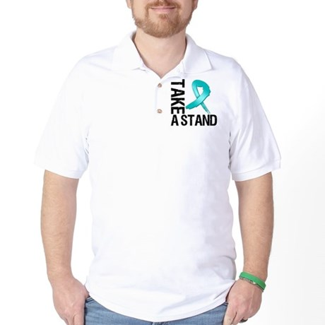 PCOS Take A Stand Golf Shirt