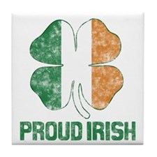 Proud Irish Tile Coaster