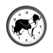 Border Collie Design & Mottif Wall Clock