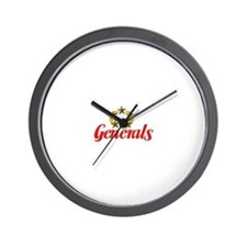 New Jersey Generals Wall Clock