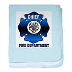 Fire Chief baby blanket