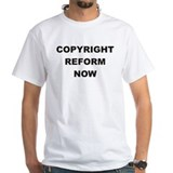 Reform Copyright Now T-shirt