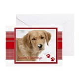 Paw print cards Greeting Cards (10 Pack)