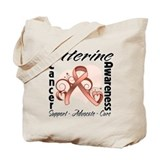Uterine Cancer Awareness Tote Bag