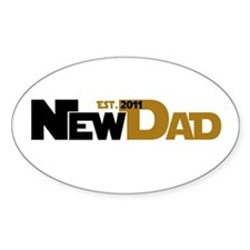 Cool New Dad 2011 Decal