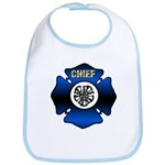 Fire Chief Gold Maltese Cross Bib