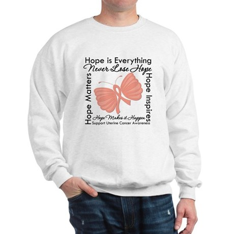 Hope - Uterine Cancer Sweatshirt