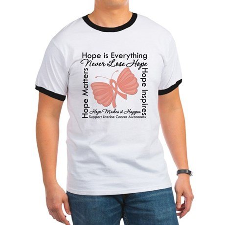 Hope - Uterine Cancer Ringer T