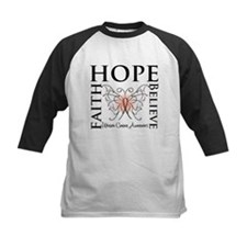 Hope Believe Uterine Cancer Tee