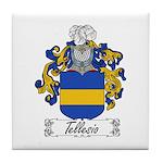 Tellesio Coat of Arms Tile Coaster