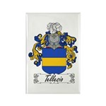 Tellesio Coat of Arms Rectangle Magnet