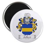 Tellesio Coat of Arms Magnet