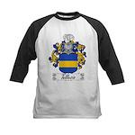 Tellesio Coat of Arms Kids Baseball Jersey