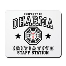 Dharma Staff Station Mousepad