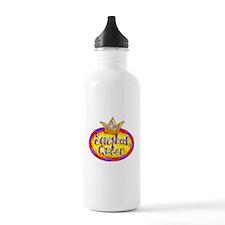 Scrapbook Queen Crown Water Bottle