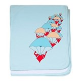 Love to the Rescue baby blanket
