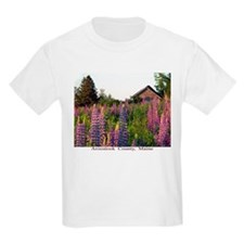 Reach road lupines Kids T-Shirt