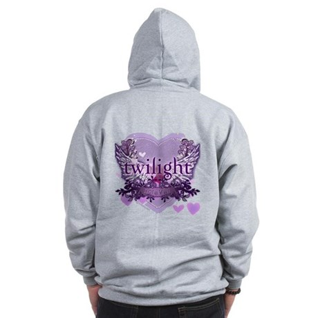 Twilight Forever by Twidaddy.com Zip Hoodie