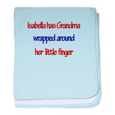 Isabella - Grandma Wrapped Ar baby blanket