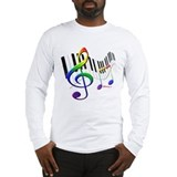Keyboard Long Sleeve T-Shirt