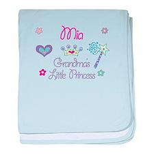 Mia - Grandma's Little Prince baby blanket