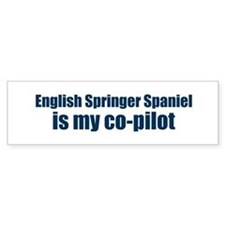 English Springer Spaniel is m Bumper Bumper Sticker