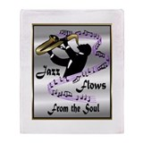 Jazz Throw Blanket