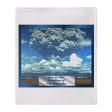 Mt. Pinatubo Throw Blanket