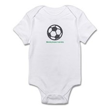 Soccer Kick - Infant Bodysuit (Green)