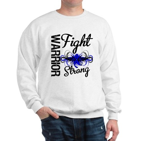 Warrior Colon Cancer Sweatshirt