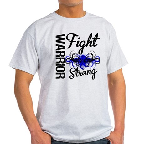 Warrior Colon Cancer Light T-Shirt