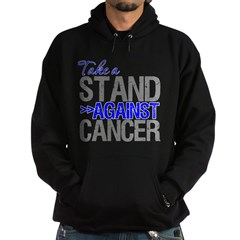 Take a Stand Colon Cancer Hoodie (dark)